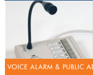 CCTV Systems, Fire detection, Gent Fire Alarms - Voice Alarm